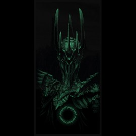 original sauron black t-shirt