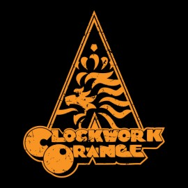 tee shirt orange clockwork special edition