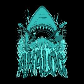 t-shirt shark analog