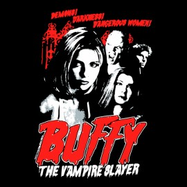tee shirt buffy vampires slayer