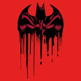 t-shirt batman bloodshed