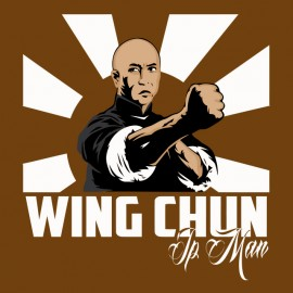 tee shirt ip man marron