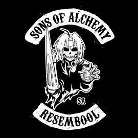 tee shirt sons of alchemy