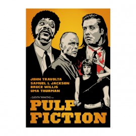 tee shirt pulp fiction affiche