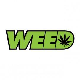 weed ganja white shirt