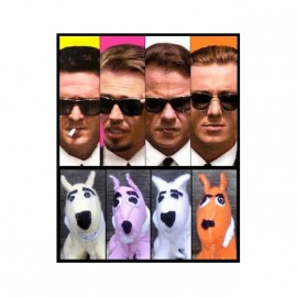 reservoir dogs stuffed animals t-shirt