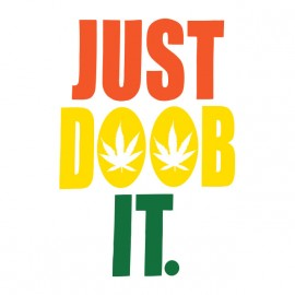tee shirt just doob it rasta dub