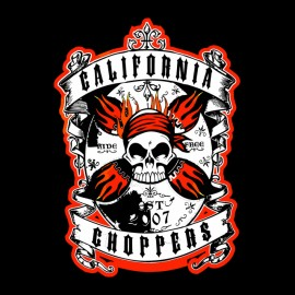 tee shirt california choppers