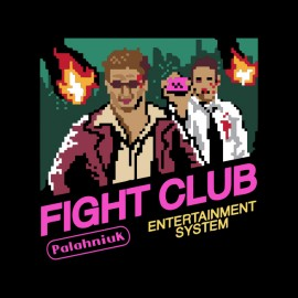 fight club 8-bit t-shirt