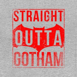 tee shirt straight outta gotham
