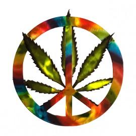 tee shirt marijuana rainbow