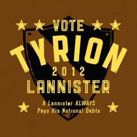 tee shirt vote tyrion got