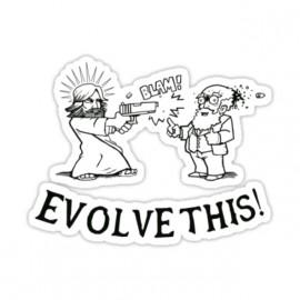 tee shirt evolve it blanc