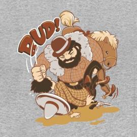 bud spencer cartoon t-shirt