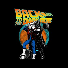 tee shirt back to the darkforce