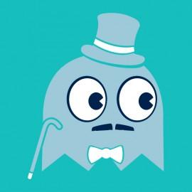 tee shirt gentleman ghost
