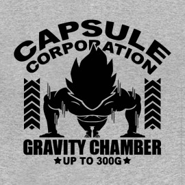 tee shirt capsule corporation gravity