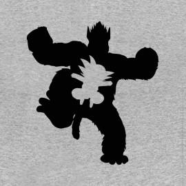 tee shirt songoku transformation dragon ball