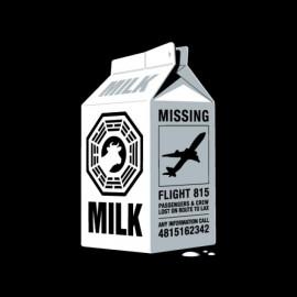 tee shirt lost brique de lait