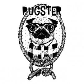 pugster dog t-shirt