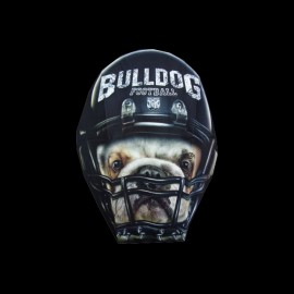 bulldog American football t-shirt