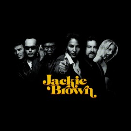 jackie brown t-shirt displays