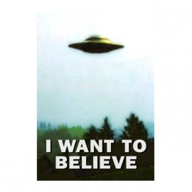 i want to believe x-files original t-shirt