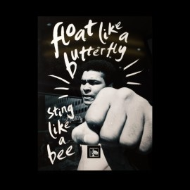 tee shirt muhammad ali string like a bee