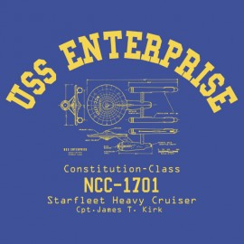 USS Enterprise - Star Trek T-shirt