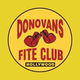ray donovans fite club hollywood t-shirt