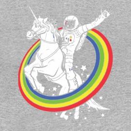 tee shirt licorne astronaute