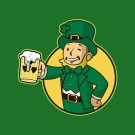 t-shirt fallout vault boy Irish