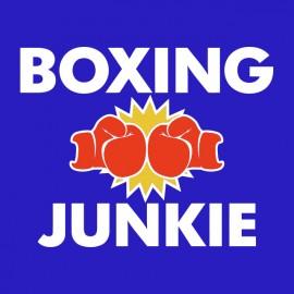 tee shirt boxe junkie