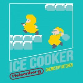 tee shirt heinsenberg ice cooker nintendo