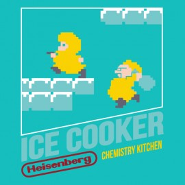 trying ice cooker nintendo t-shirt