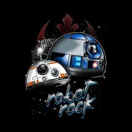 robots back star wars t-shirt style punk daft