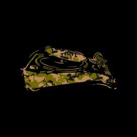 tee shirt technics platine camouflage