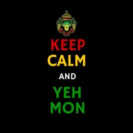 Yes my keep calm rasta t-shirt