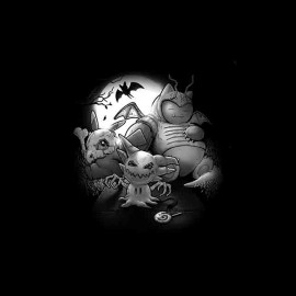 pokemon zombies halloween t-shirt