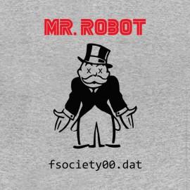 tee shirt mr robot f society dat