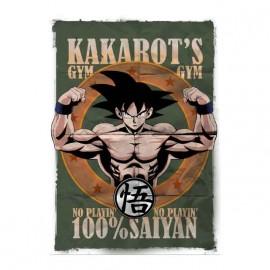 tee shirt dragon ball kakarots gym super sayan