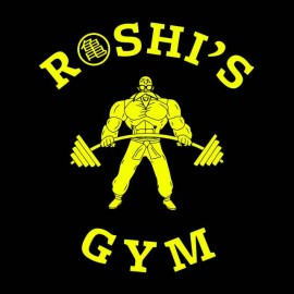 tee shirt roshis gym tortue genial dragon ball