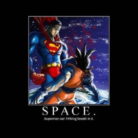 tee shirt dragon ball songoku vs superman