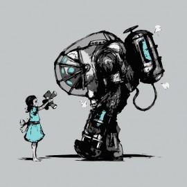 tee shirt mechwarrior nuclear girl