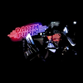 tee shirt darth punk parodie vador vs daft punk
