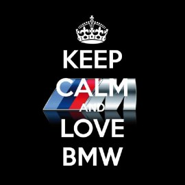 tee shirt keep calm love bmw