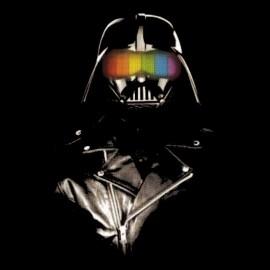 t-shirt daft punk Vader star wars