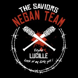 WD - Negan Lucille Team t-shirt