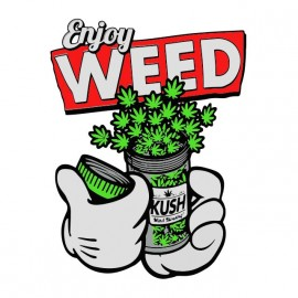 tee shirt enjoy weed mickey dope