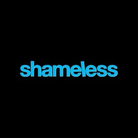 tee shirt shameless logo